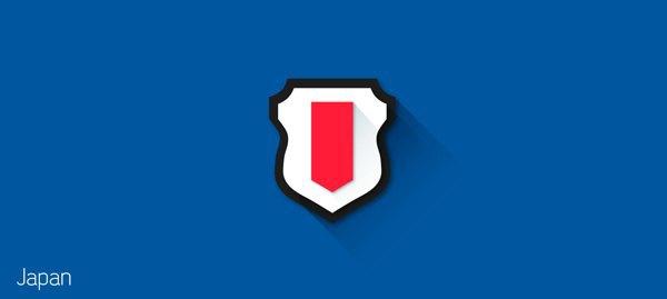Представлены «плоские» версии гербов национальных сборных . Изображение № 11.