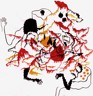 Michael DeForge a. k. a. King Trash. Изображение № 6.