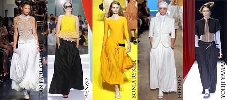 Модные юбки весна-лето 2012. Изображение № 5.