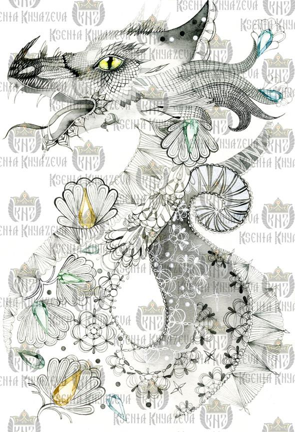 Preview коллекции Весна-Лето 2012 by Ksenia Knyazeva. Изображение № 27.