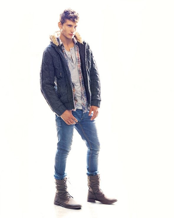 Лукбук: Bershka September 2011 Menswear. Изображение № 1.