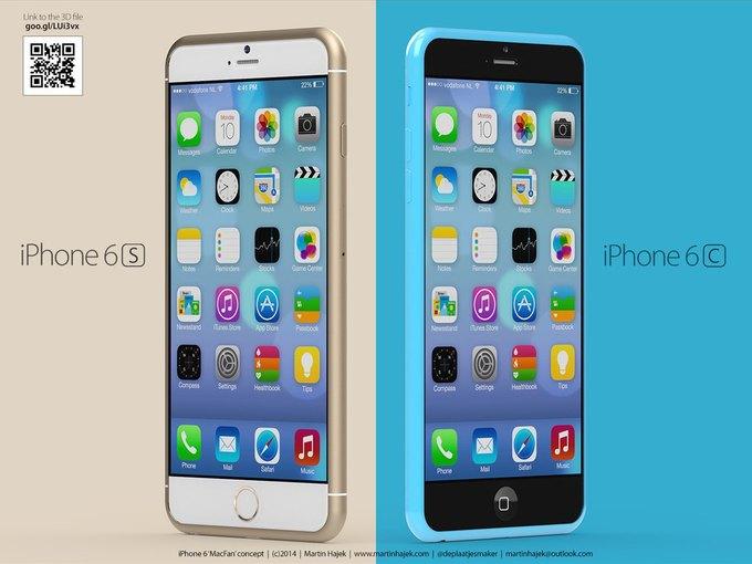 Дизайнер создал концепты iPhone 6s и 6c на основе «слива» из японского журнала. Изображение № 1.