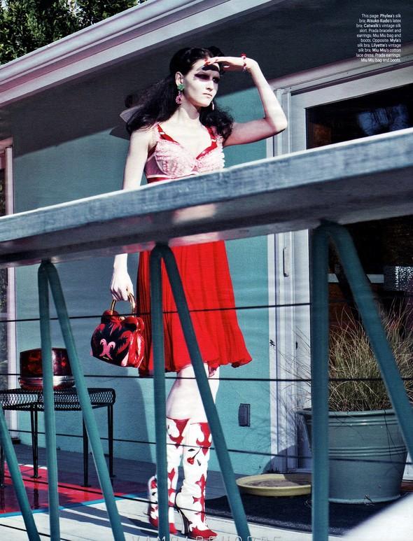 Съёмка: Кверелле Янсен в объективе Крейга Макдина. Изображение № 4.