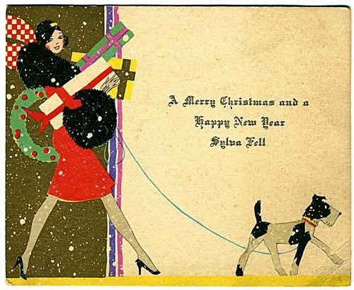 Новогодние fashion cards. Изображение № 19.