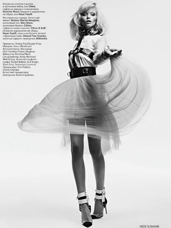 Изображение 4. Эбби Ли Киршоу для апрельского Vogue Russia.. Изображение № 4.