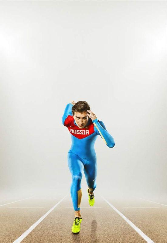 Nike представил новую экипировку для сборной России по лёгкой атлетике. Изображение № 4.