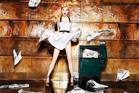 Изображение 1. Рекламная компания Bebe весна 2011.. Изображение № 1.