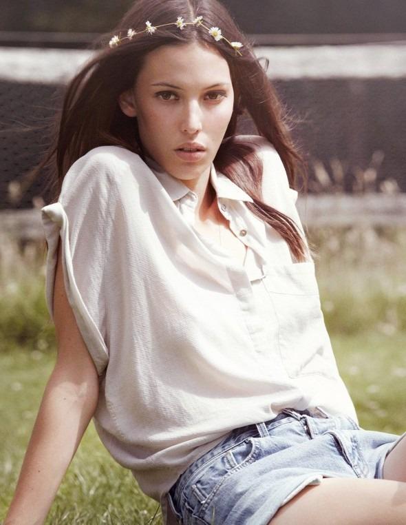Лукбук: Руби Олдридж для MiH Jeans SS 2012. Изображение № 1.