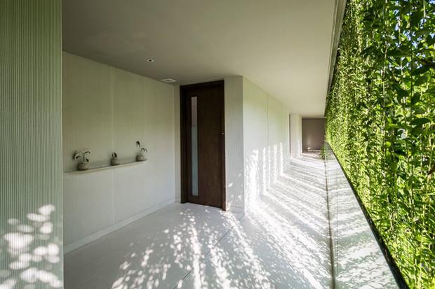 Архитектура дня: белый спа-центр во Вьетнаме с растениями на фасаде. Изображение № 7.