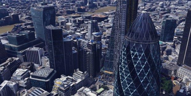 В Google Earth появилась 3D-версия Лондона. Изображение № 3.