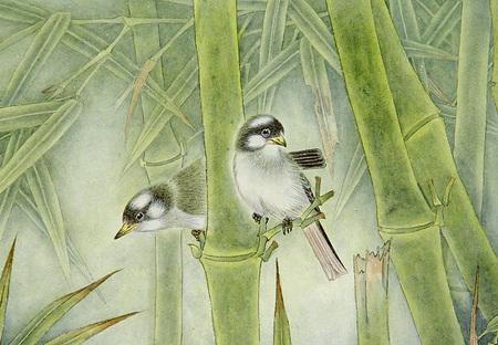 Птицы ицветы. Изображение № 2.