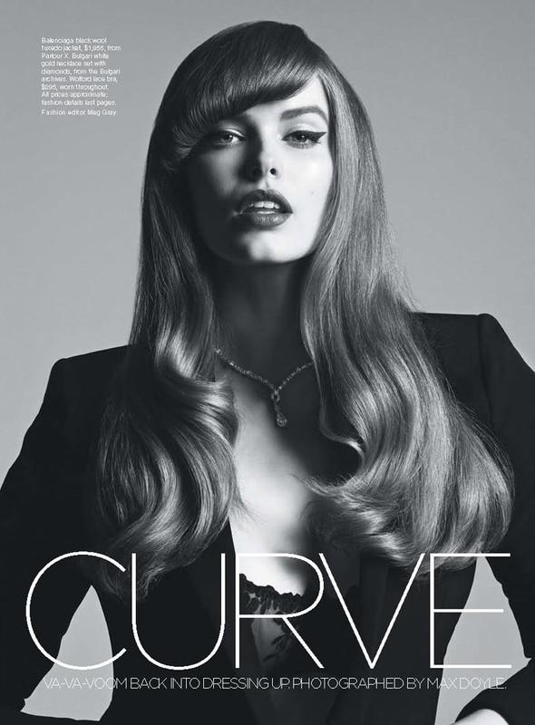Съёмка: Робин Лоули для австралийского Vogue. Изображение № 2.