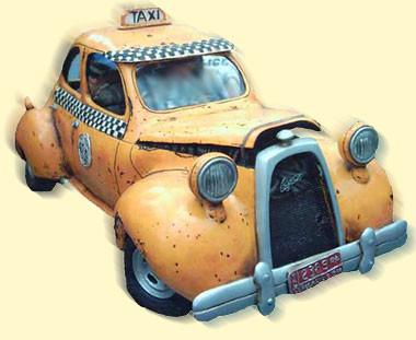 Орно в такси