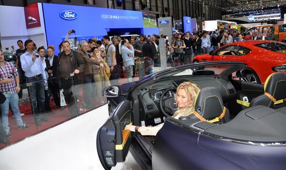 Natalia Freidina at 82nd Geneva International Motor Show. Изображение № 8.
