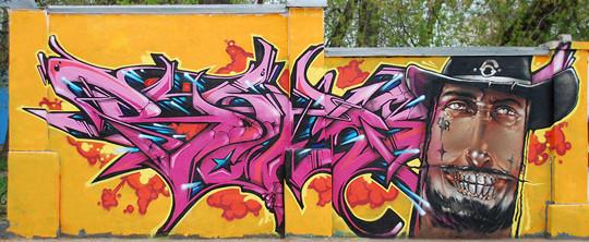 Интервью с граффити райтером Stan One. Изображение № 12.