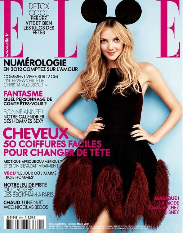 Обложки: Elle и Tatler. Изображение № 1.