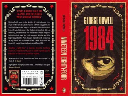 Обложки книг Джорджа Оруэлла отсоздателя OBEY. Изображение № 2.