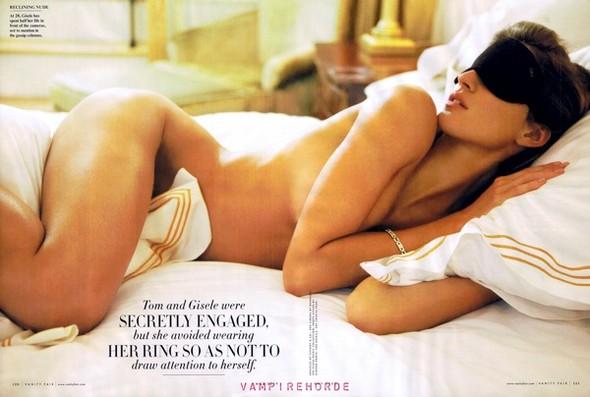 Жизель Бюндхен вмайском Vanity Fair. Изображение № 8.