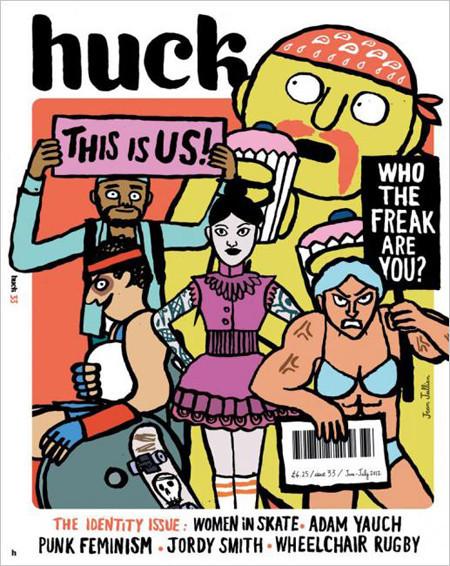 Обложки недели: Bloomberg Businessweek, NME, Huck, Hypebeast. Изображение № 5.