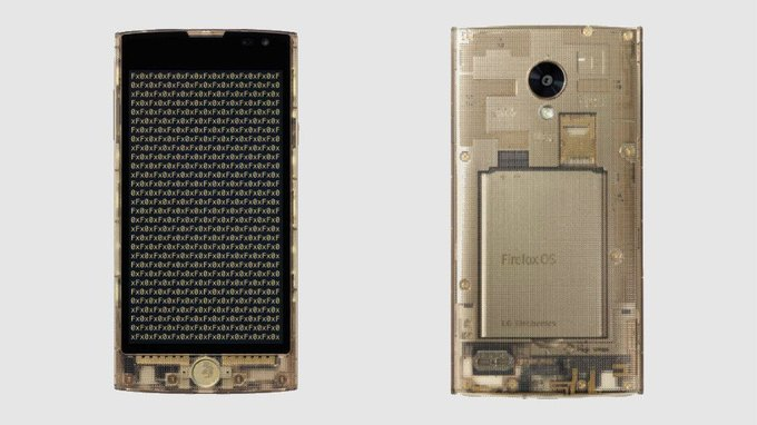 В Японии выйдет смартфон c прозрачным корпусом. Изображение № 1.