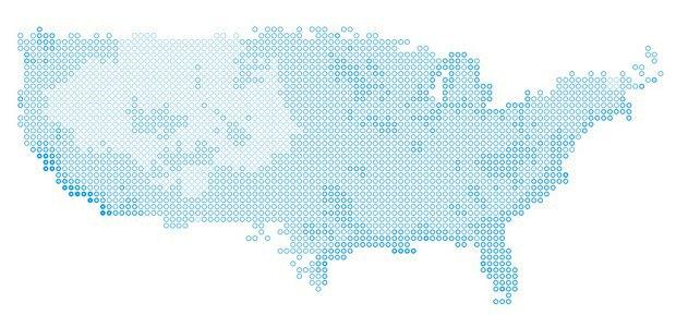 «Умная» карта показывает города с хорошей погодой. Изображение № 1.