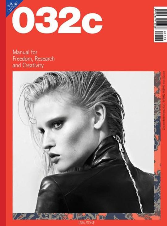 Новые обложки 032c, CR Fashion Book, Industrie, GQ, Muse и других журналов. Изображение № 2.