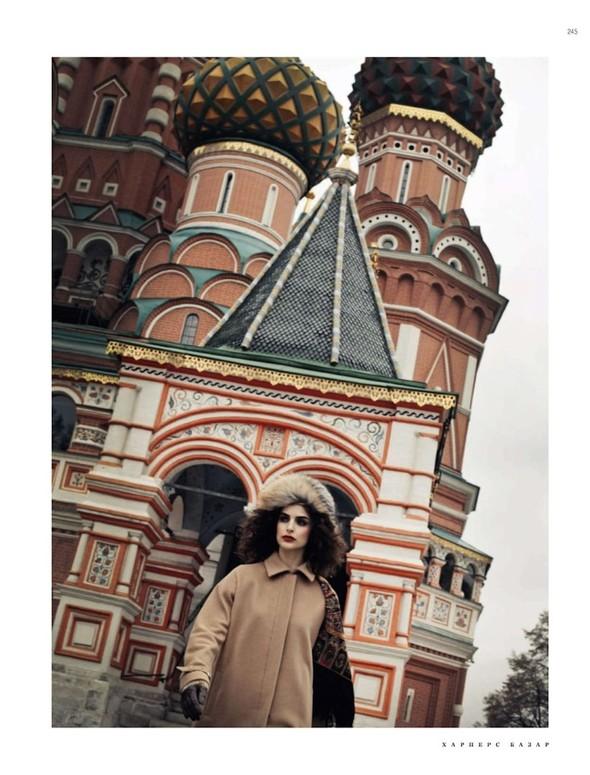 Съёмка: Фернанда Прада для Harper's Bazaar. Изображение № 5.