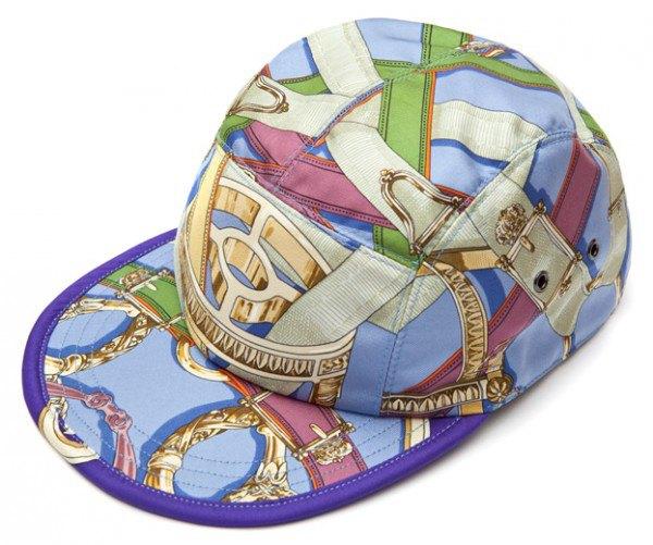 Géométrick создали кепки из платков Celine и Hermes. Изображение № 4.