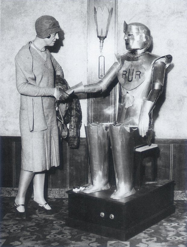 Власть роботам: Каким представляли восстание машин в 1920-х годах. Изображение № 4.