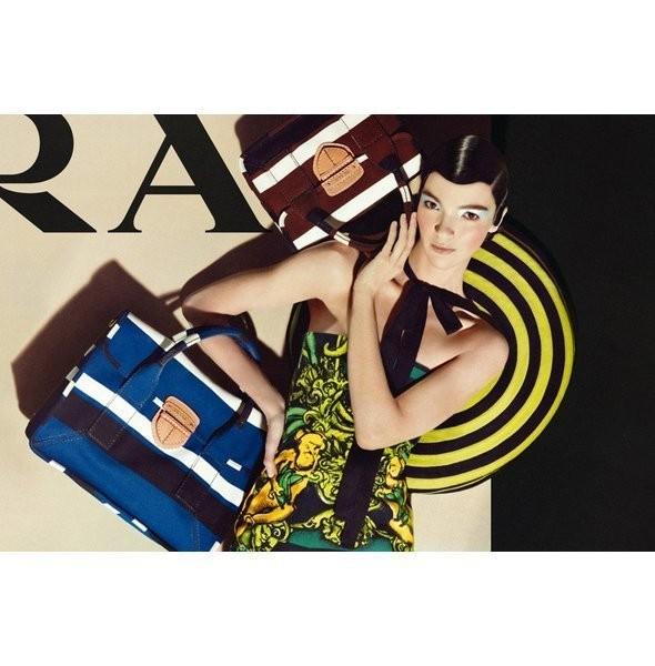 Изображение 43. Рекламные кампании: Lanvin, Prada, Balenciaga и другие.. Изображение № 13.