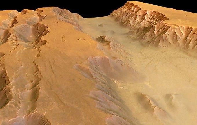 Появились первые подробные 3D-карты Марса. Изображение № 3.