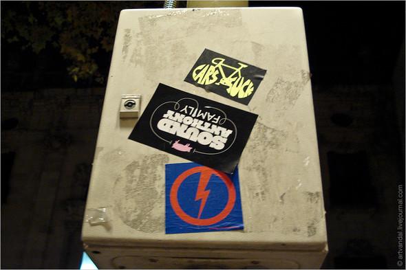 Стрит-арт и граффити Барселоны, Испания. Изображение № 20.