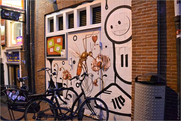 Стрит-арт и граффити Амстердама, Нидерланды. Изображение № 37.