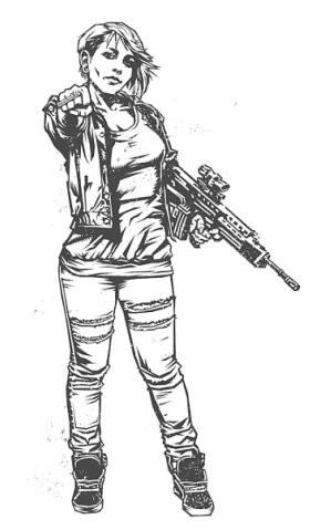 Девушки с оружием от Frank Barbara. Изображение № 26.