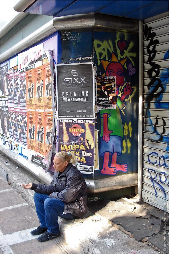 Стрит-арт и граффити Афин, Греция. Изображение № 10.