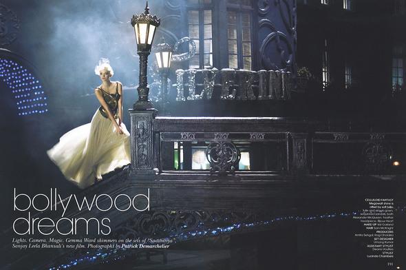 Мечты Болливуда (Vogue India October 2007). Изображение № 1.