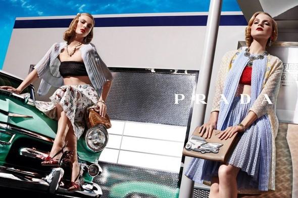 Кампания: Prada SS 2012. Изображение № 4.