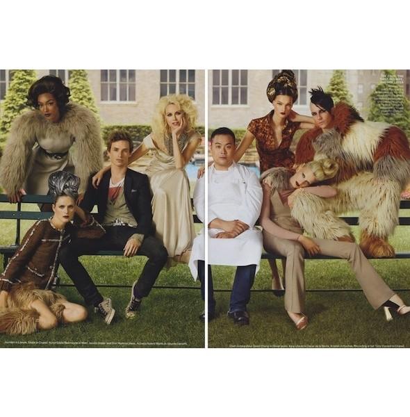 5 новых съемок: Purple Fashion, Vogue и W. Изображение № 21.