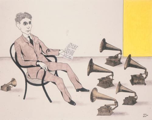 Карикатуры на писателей. Изображение № 56.
