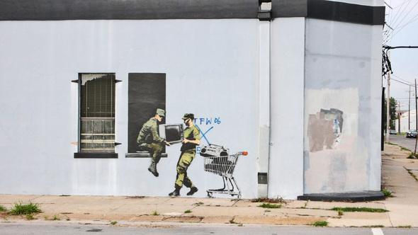Изображение 29. Banksy (уличная мышь – герой).. Изображение № 29.