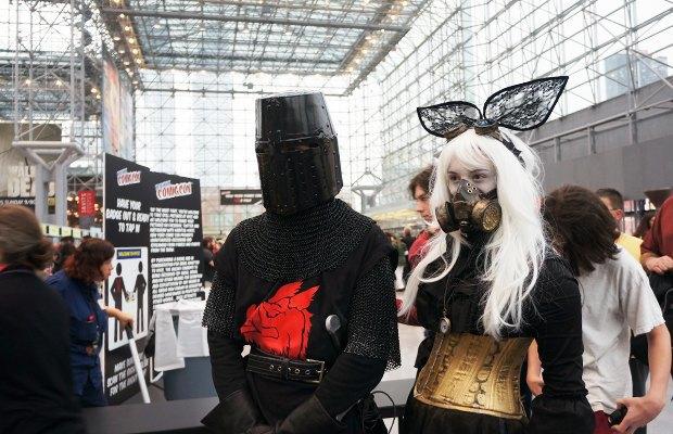 Как прошёл гик-фестиваль NYC Comic-Con  в Нью-Йорке. Изображение № 17.