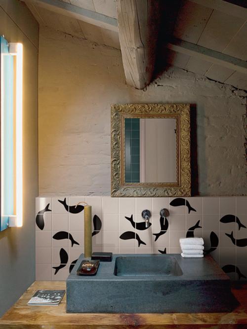 Черно-белый зоопарк: керамическая плитка от Bardelli. Изображение № 6.