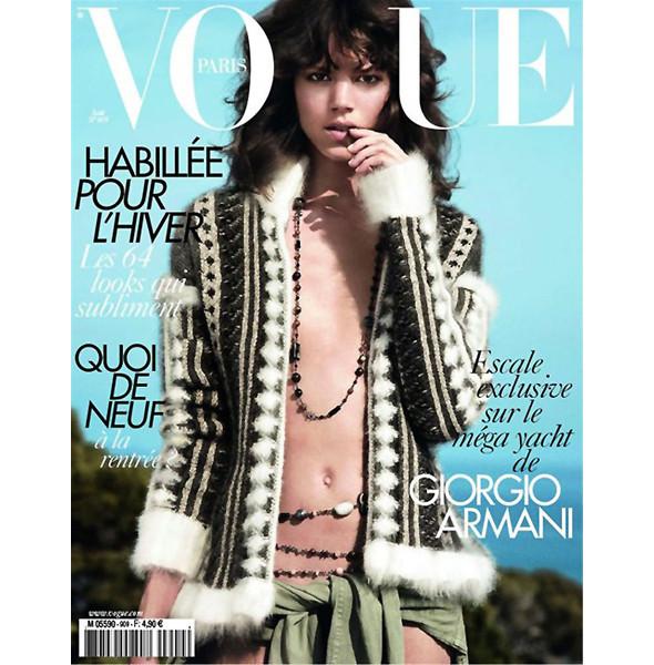 8 новых обложек Vogue. Изображение № 8.