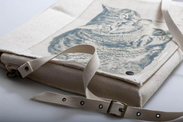 Экосумки и чехлы для ноутбуков, плотный натуральный хлопок. Изображение № 17.