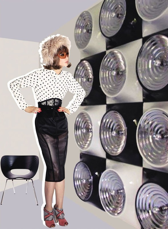 """Съемка: сет """"60s Bang Bang"""" в корейском Harper's Bazaar. Изображение № 6."""