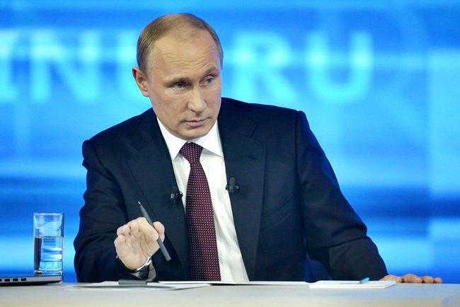 Президент РФ Владимир Путин. Изображение № 1.