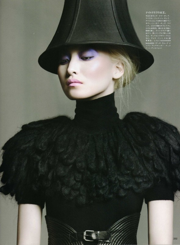 Vogue Nippon Beauty: September 2009. Изображение № 5.