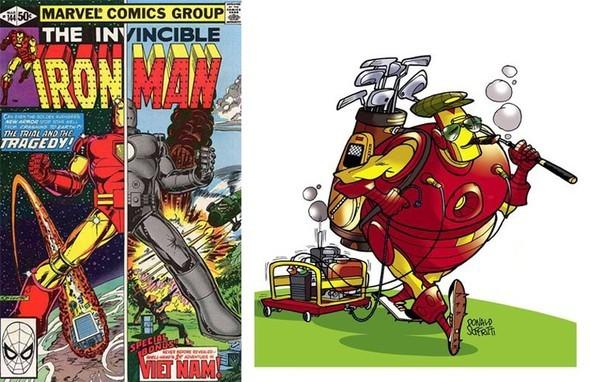 Что случается с супергероями, когда они на пенсии?. Изображение № 20.
