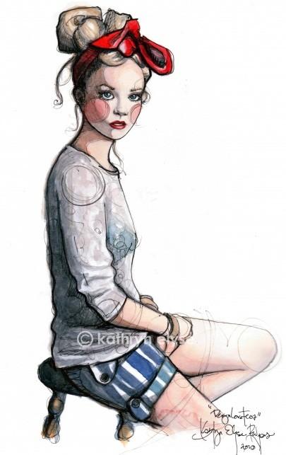 Kathryn Elyse. Fashion Illustrations. Изображение № 6.