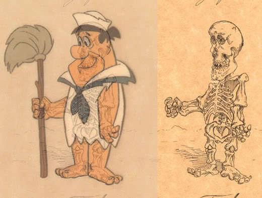 Изображение 13. Анатомия мульт-героев.. Изображение № 13.